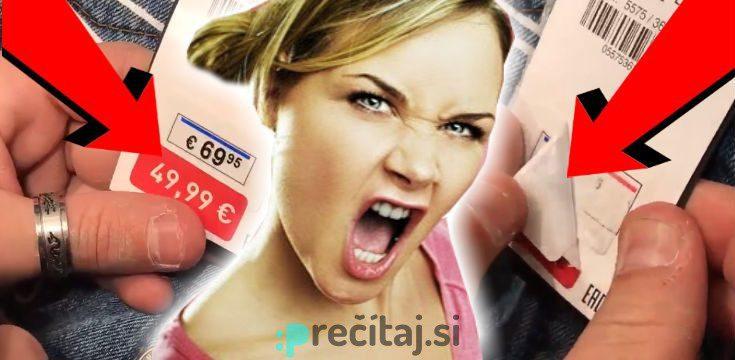 9b3b0c95c Zákazník odhalil podvod: Aj TAKTO nás klamú v obchodoch! - Precitaj.si