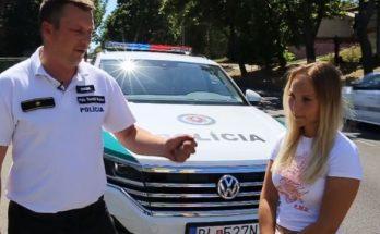 policajt roztrhol zene sluchadla, policajna kampan
