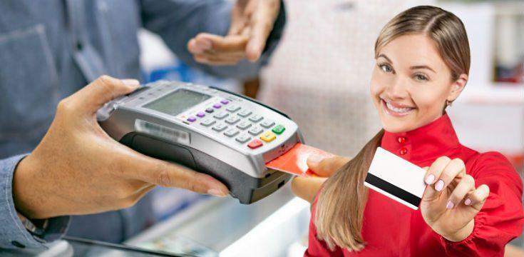 platba kartou novinka