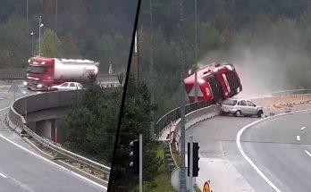 dopravna nehoda slovinsko dialnica