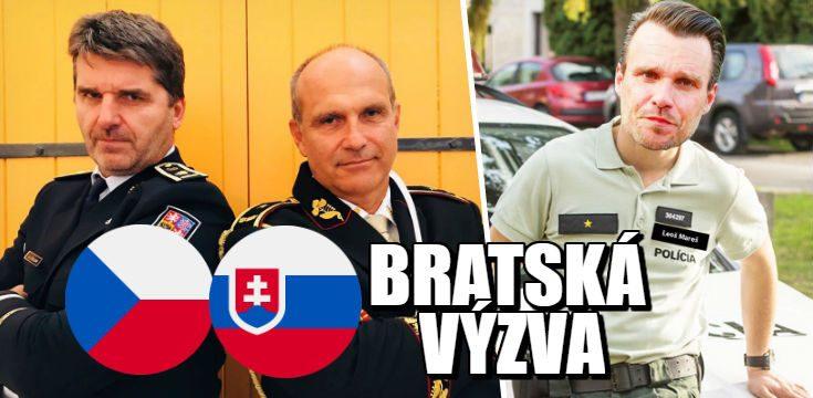 bratska vyzva policia slovensko cesko vysledky instagram