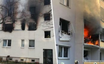 vybuch plynu nemecko