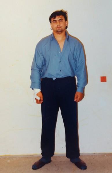 Boss košického podsvetia Róbert Holub. Prežil pokus o vraždu, avšak na nemocničnom lôžku bol neskôr zastrelený.