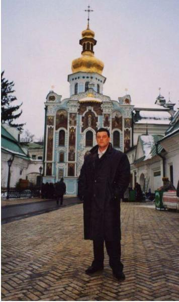 Mikuláš Černák na návšteve v Rusku.