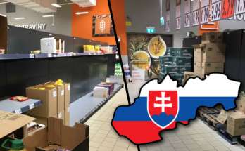 koronavirus slovensko bratislava petrzalka obchody