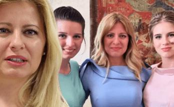 zuzana caputova prezident slovensko dcery deti rodina