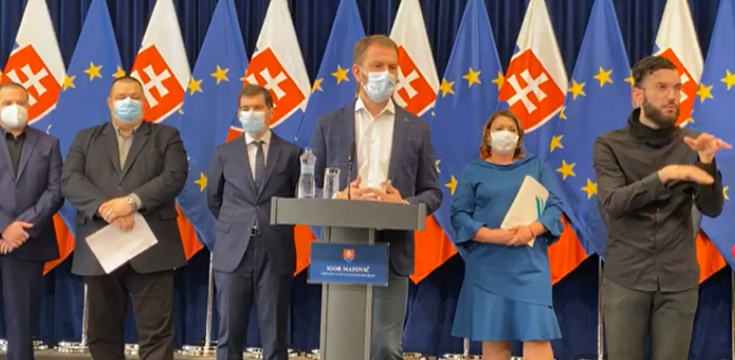 koronavirus slovensko masivne testovanie
