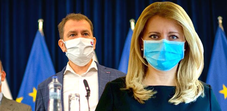 koronavirus znizovanie platov poslanci ministri prezidentka