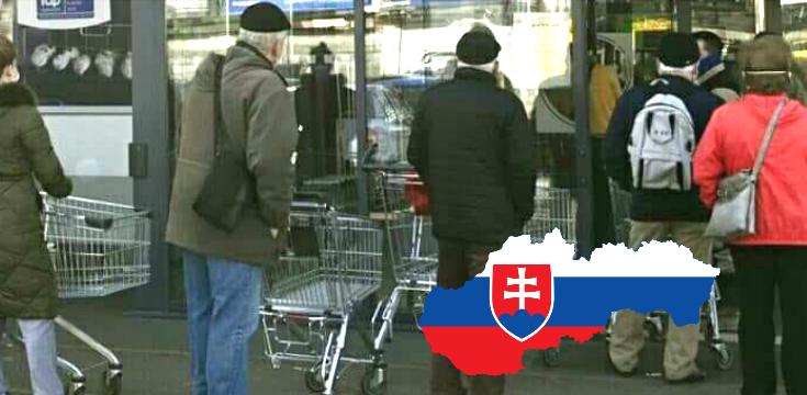 koronavirus na slovensku obchody