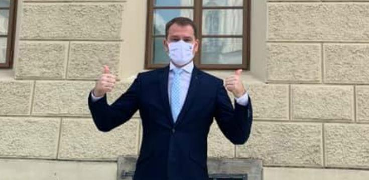 igor matovic nudzovy stav slovensko koronavirus