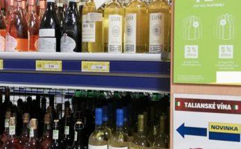 talianske vína vlajka madarska obchod
