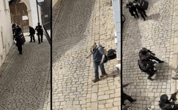 muz utok nozom bratislava zasah policie