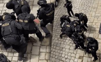 muz utok nozom bratislava zasah policie reakcia jana maskarova