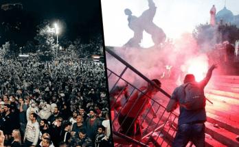 srbsko belehrad nepokoje demonstracie koronavirus vlada