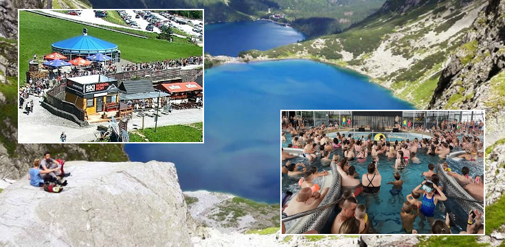 vysoke tatry dovolenka turisti facebook foto